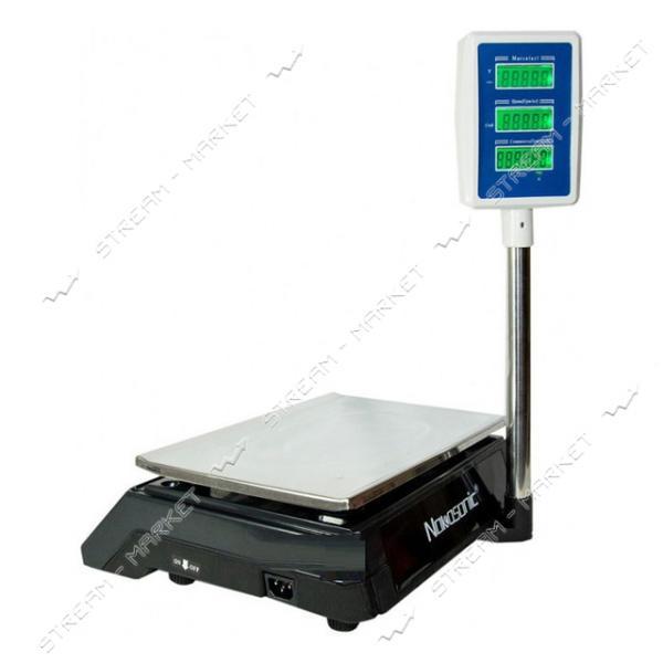 Торговые весы D1 50 кг со стойкой Китай