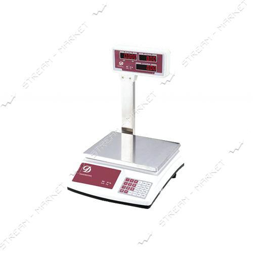 Торговые весы Олимп ACS-768Д 40кг со стойкой