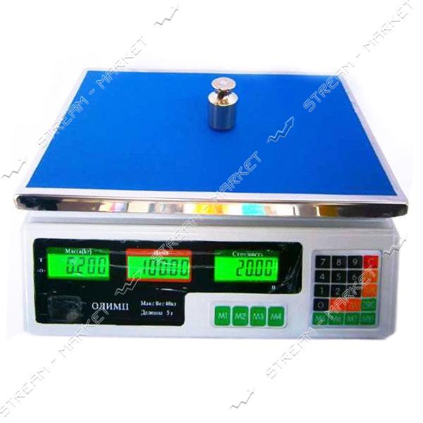 Торговые весы Олимп ACS-A9 40кг