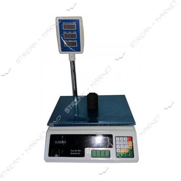 Торговые весы Олимп ACS-D1 40кг со стойкой