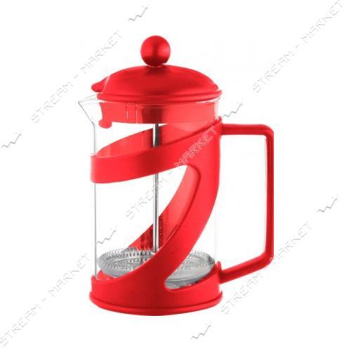Заварник ConBrio CB-5480 красный 800мл пластик
