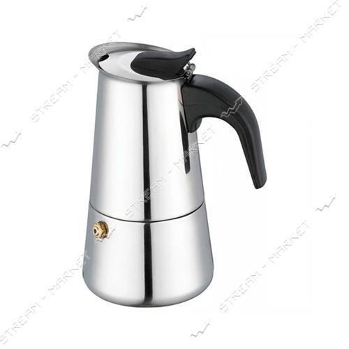 Гейзерная кофеварка 4 порции 200мл
