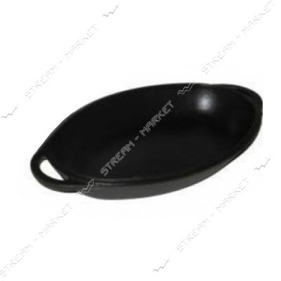 СИТОН крышка-сковорода 40*26см, h=3см, чугун, с литыми ручками