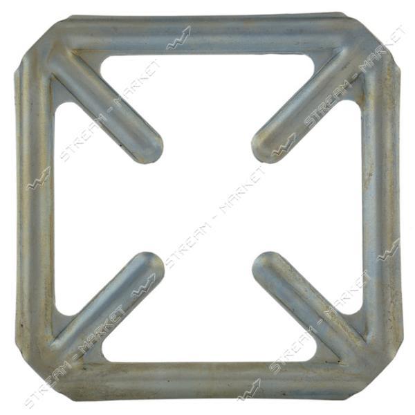 Накладка на газовую плиту Крест оцинкованная 105х105мм