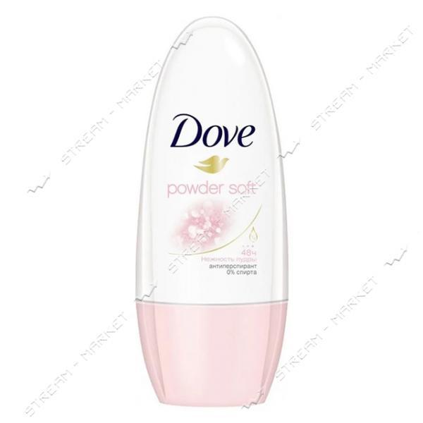 Dove Антиперспирант роликовый женский Нежность пудры 50мл