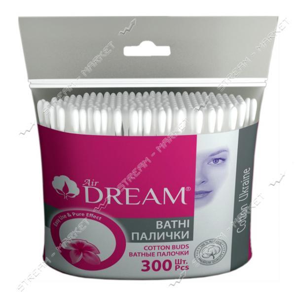 Air Dream Палочки ватные в пакете 300шт