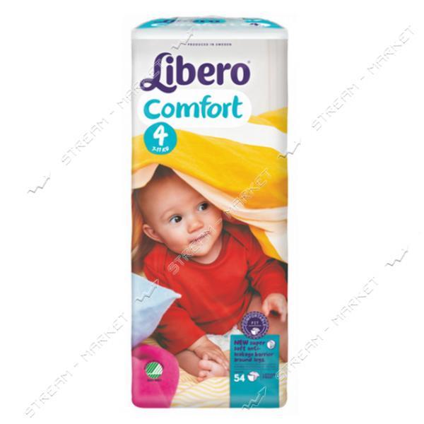 Libero Подгузники детские Comfort 4 (7-14кг) 54шт