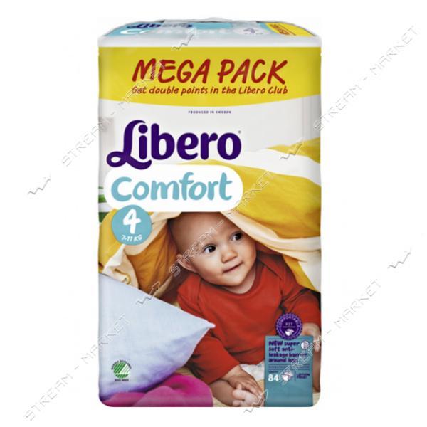 Libero Подгузники детские Comfort 4 (7-14кг) 84шт