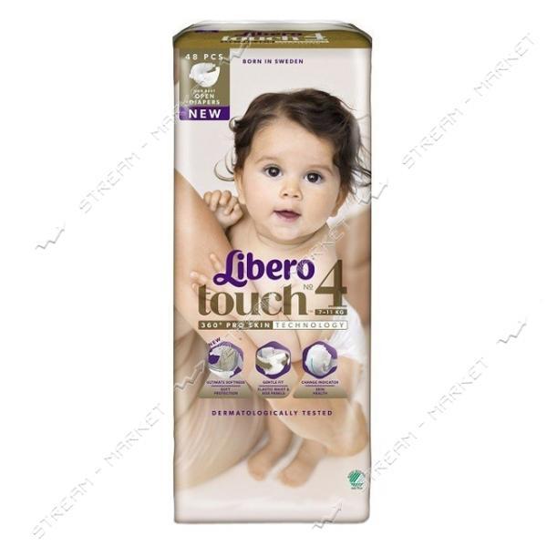 Libero Подгузники детские Touch 4 (7-11кг) 48шт