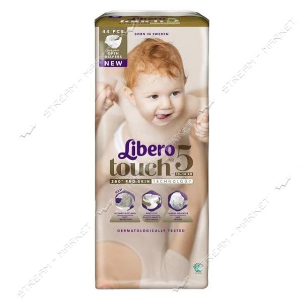 Libero Подгузники детские Touch 5 (10-14кг) 44шт