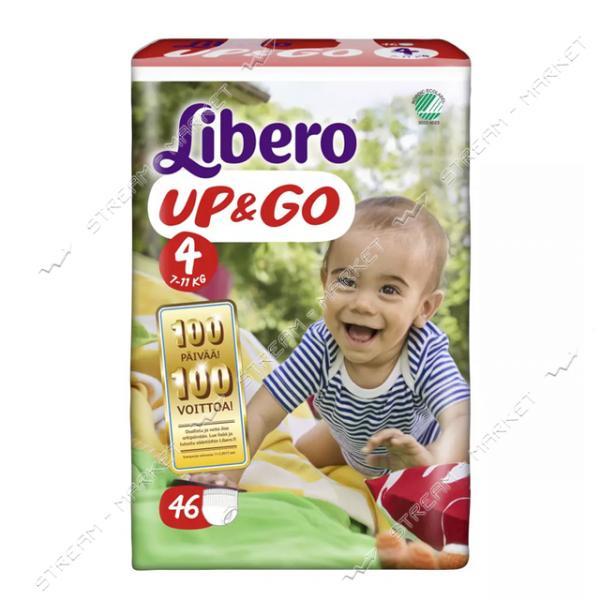 Libero Подгузники-трусики детские Up&Go 4 (7-11кг) 46шт