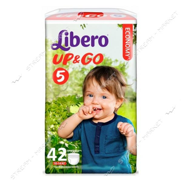 Libero Подгузники-трусики детские Up&Go 5 (10-14кг) 42шт