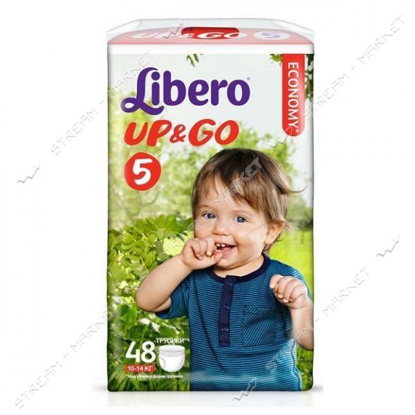 Libero Подгузники-трусики детские Up&Go 5 (10-14кг) 48шт