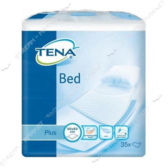 Tena Пеленки одноразовые Bed Plus 60х90см 35шт
