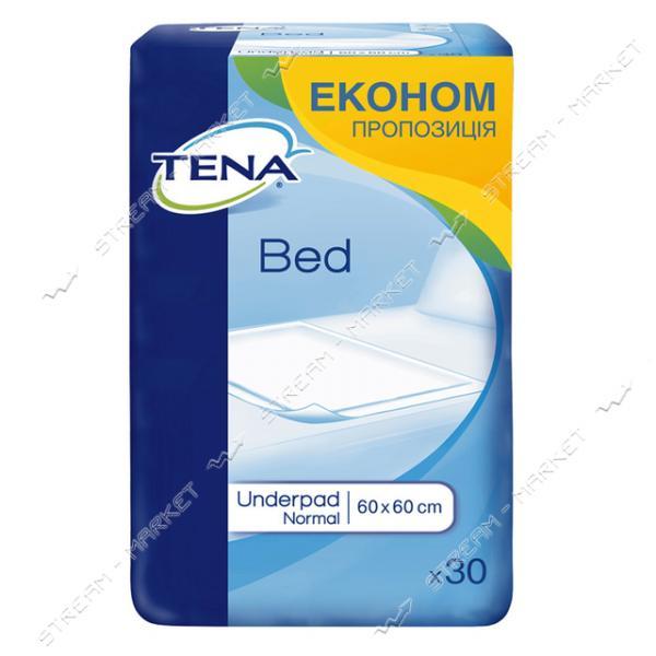 Tena Пеленки одноразовые Bed Normal 60х60см 30шт