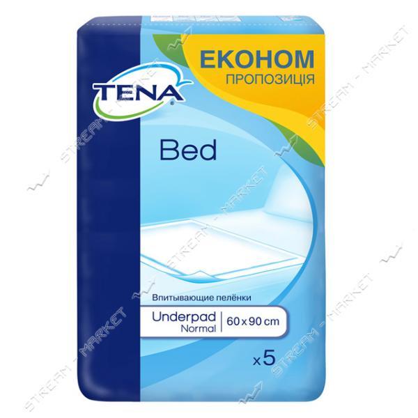 Tena Пеленки одноразовые Bed Normal 60х90 5шт