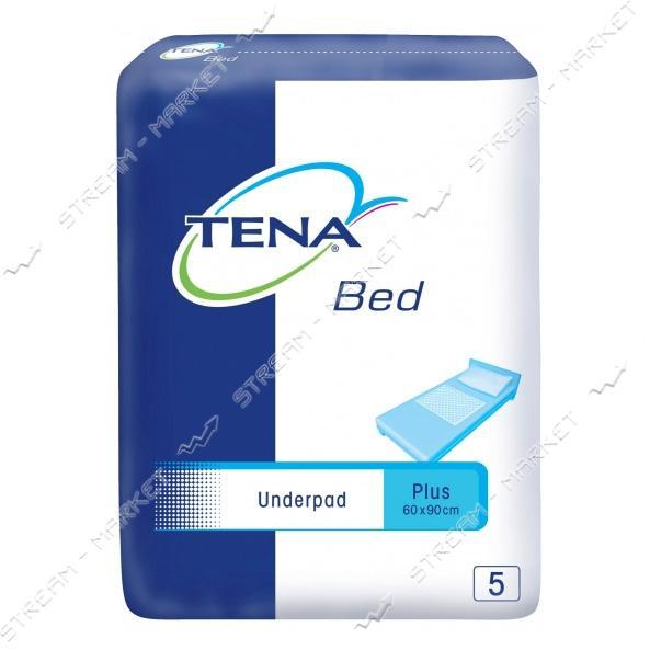 Tena Пеленки одноразовые Bed Plus 60х90 5шт