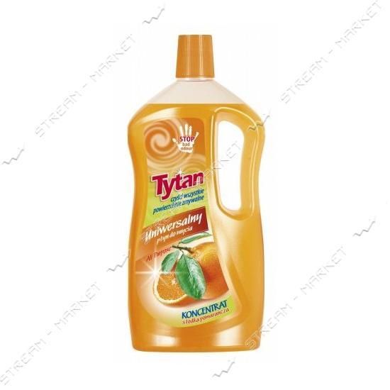 Универсальная жидкость для мытья Tytan Сладкий апельсин 1000мл