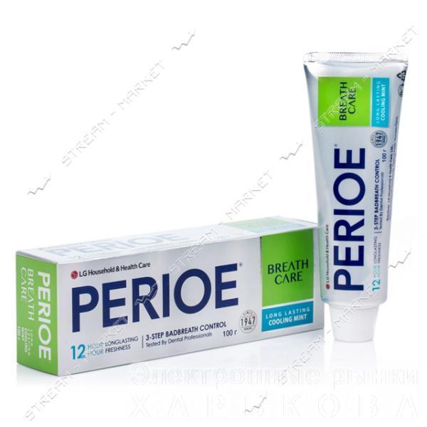 PERIOE Зубная паста Breath Care Охлажденная мята 100г - Зубные пасты на рынке Барабашова