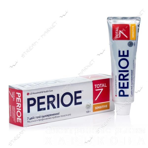 PERIOE Зубная паста комплексного действия Total 7 для чувствительных зубов 120г - Зубные пасты на рынке Барабашова