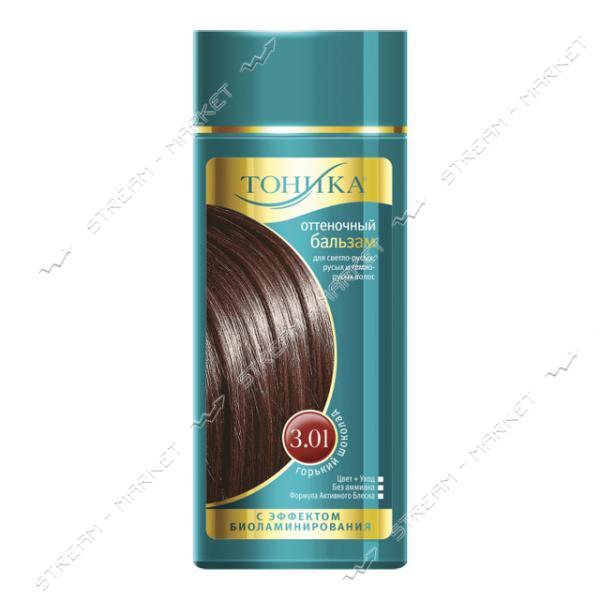 Clever Тоника Бальзам для придания оттенка 3.01 Горький шоколад 150мл