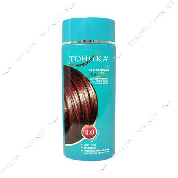 Clever Тоника Бальзам для придания оттенка 4.0 Шоколад 150мл