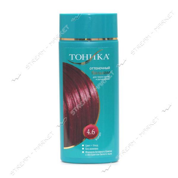 Clever Тоника Бальзам для придания оттенка 4.6 Бордо 150мл