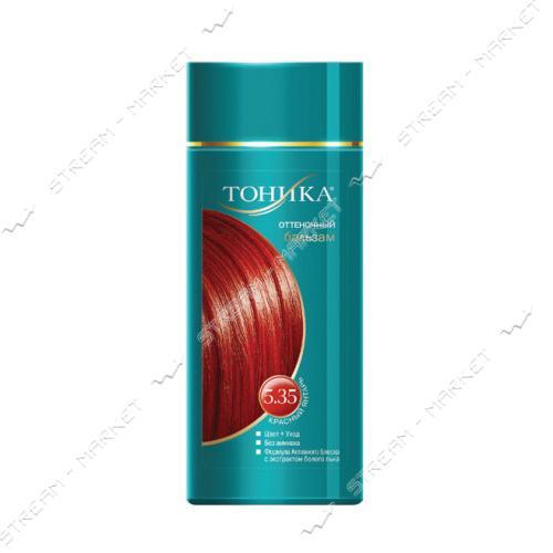 Clever Тоника Бальзам для придания оттенка 5.35 Красный янтарь 150мл