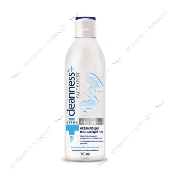Гель Cleanness Освежающий, очищающий для нормальной и смешанной кожи лица 240мл