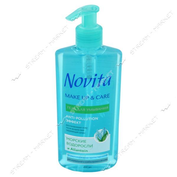 Гель для умывания Novita Make Up & Care 200мл