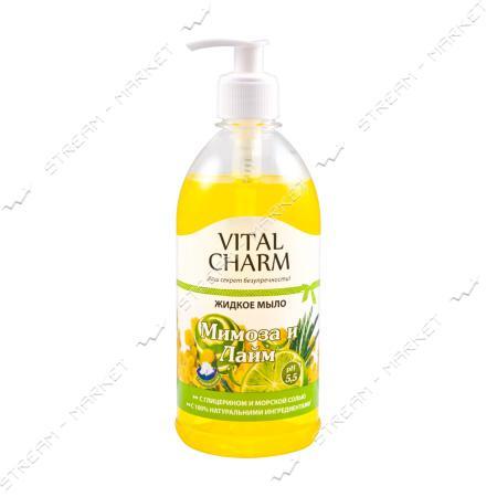 VC Крем-мыло жидкое с дозатором Мимоза 500мл