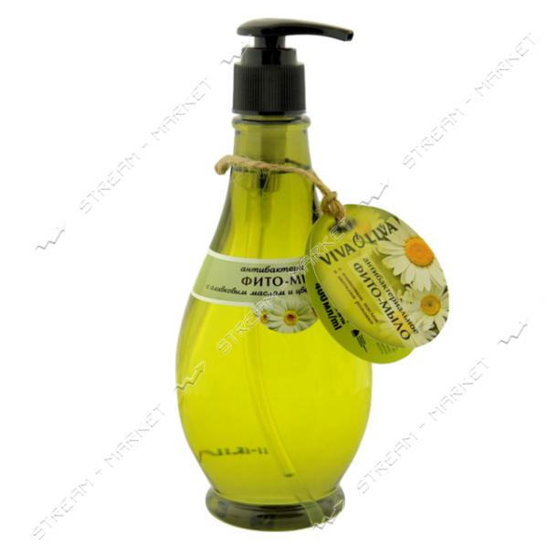 Viva Oliva Фито-мыло антибактериальное с оливковым маслом и цветами ромашки 400мл.