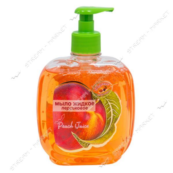 Вкусные секреты Гель-мыло жидкое Персик 460мл