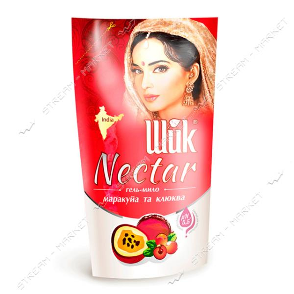 Шик Nectar Гель-мыло жидкое Маракуйя и клюква doy-pack 300мл