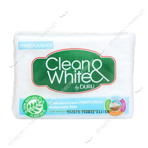 Duru Clean&White Мыло хозяйственное универсальное 125г