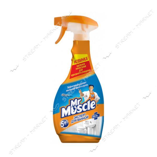 Mr Muscle Чистящее средство 5в1 Эксперт для ванной с распылителем 500мл