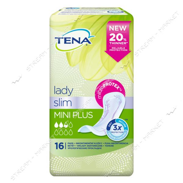 Tena Lady Прокладки Урологические Mini Plus 16шт