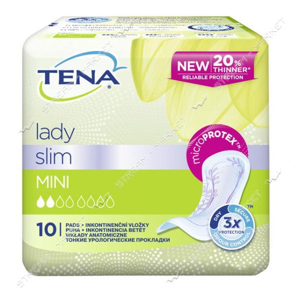 Tena Lady Прокладки Урологические Slim Mini 10шт