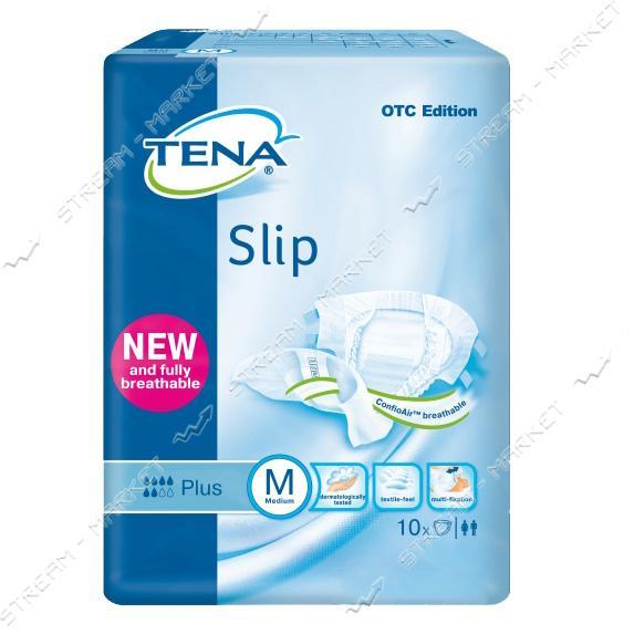 Tena Подгузники для взрослых Slip Plus M (73-122см) 10шт