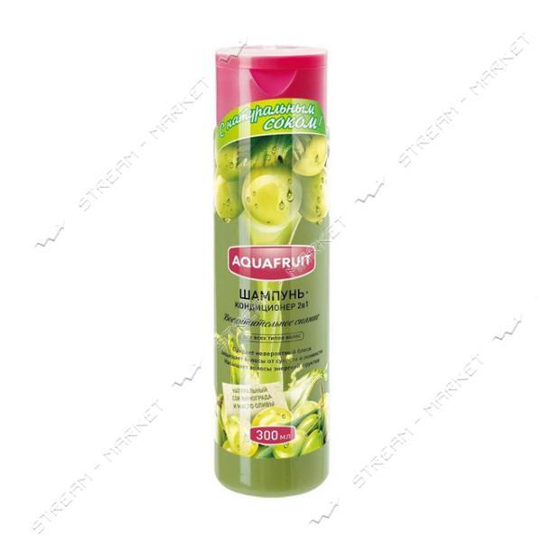 Aquafruit Шампунь-кондиционер для всех типов волос Восхитительное сияние 300мл