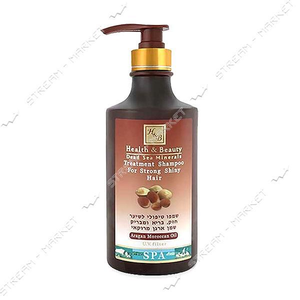 Health & Beauty Шампунь для сухих и тонких волос с маслом аргании 780мл Израиль