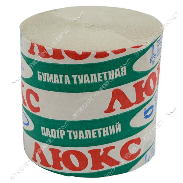 Туалетная бумага ЛЮКС уп. 20шт