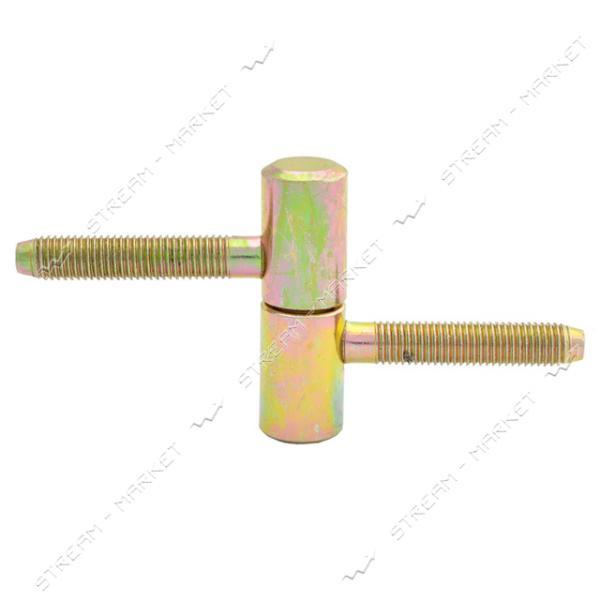 Петля ввертная боченок маленькая желтая (отлав d13мм)