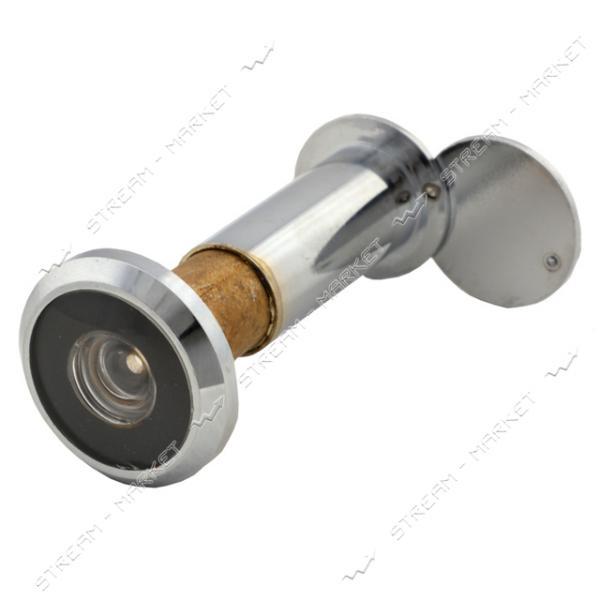 Глазок дверной 60-100-CP (хром) Китай
