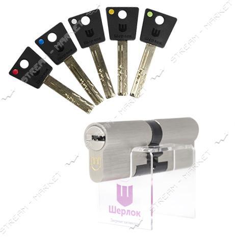 Секрет латунный Шерлок HK 80 35х45SN ключ/ключ