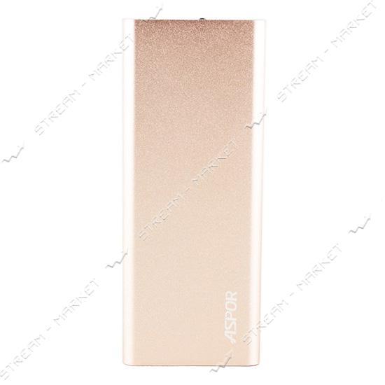 Aspor портативное зарядное устройство Q388, 2USB, 10000mAh, цвета в ассортименте