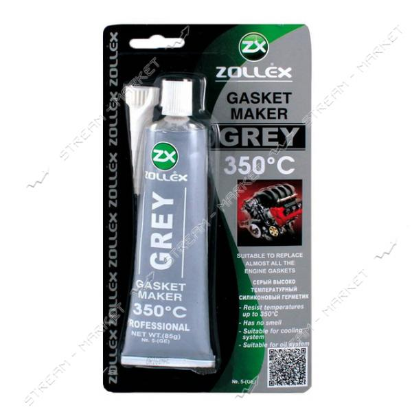 Zollex Герметик многоцелевой 85г серый