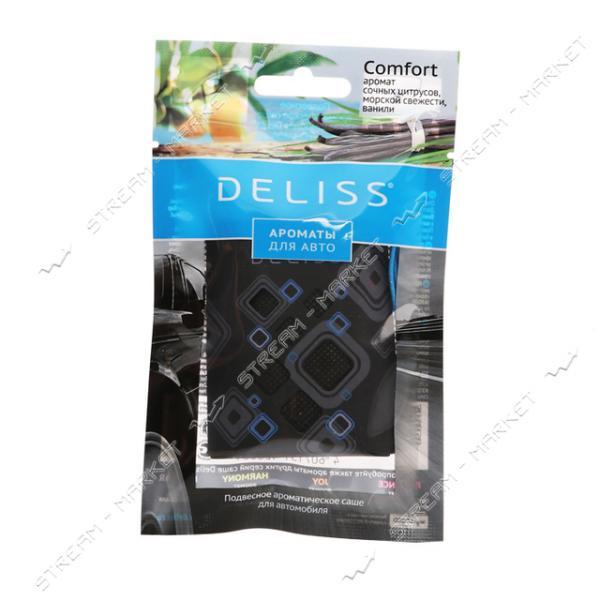 DELISS Ароматизатор подвесной в саше для автомобиля Comfort 7.8мл