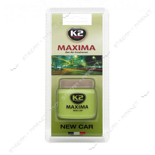 К2 Ароматизатор MAXIMA NEW CAR 50мл