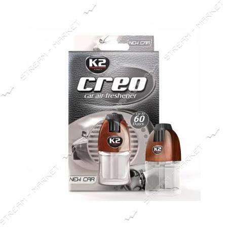 К2 Ароматизатор CREO BROWN NEW CAR 8мл